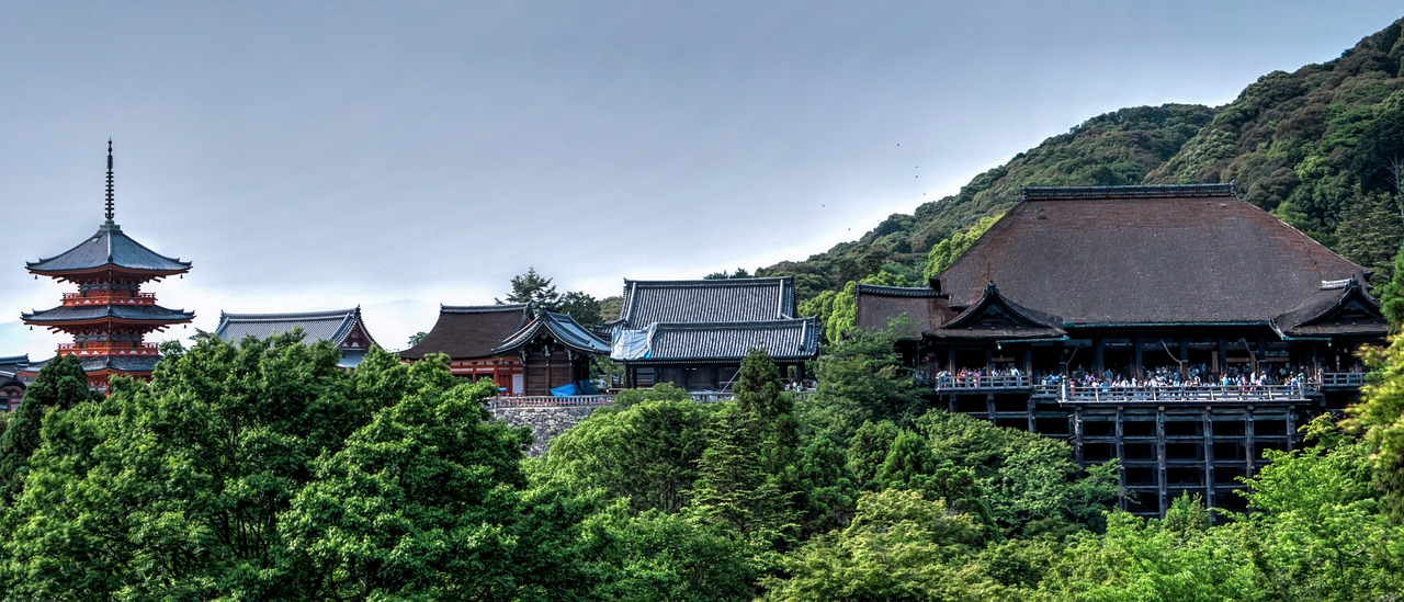 Leuke steden: kyoto - tempels